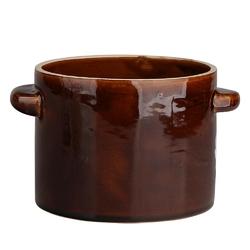 Garnek  naczynie kamionkowe  ceramiczne krystynka 1,5 l
