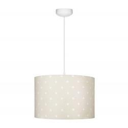 Lampa wisząca - lovely dots beige