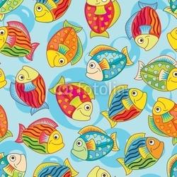 Obraz na płótnie canvas jasne radosne ryby