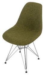 Krzesło p016 dsr duo zielono szare - szary jasny || zielony