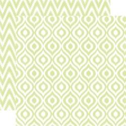 Papier 30,5x30,5 cm Style EssentialSprig ikat - 007