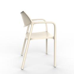 Krzesło splash aire beżowe - beżowy