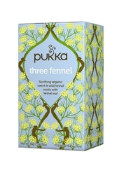 Pukka three fennel organiczna herbatka z kopru włoskiego 20 torebek
