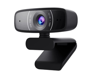 Asus kamera internetowa c3 fullhd30fpsmic czarna