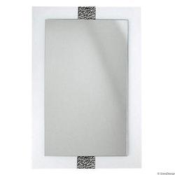 Gieradesign :: lustro łazienkowe apollo fala prostokątne białe 60x90 cm