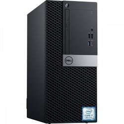 Dell Komputer Optiplex 7070 MT W10Pro i7-970016GB512GB SSDIntel UHD 630DVD RWKB216  MS1163Y BWOS