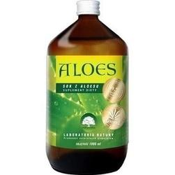Aloes 99,7 czystego soku z aloesu 1000ml