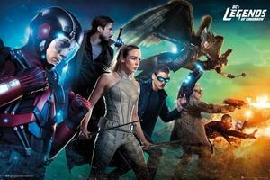 DC Comics Legends of Tomorrow - plakat