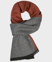 Szaro rudy szal wiskozowy