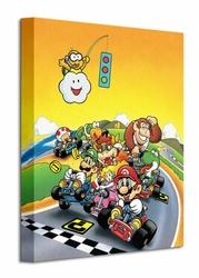 Super Mario Kart Retro - Obraz na płótnie