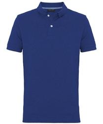 Męska niebieska koszulka polo profuomo m