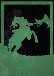 League of legends - hecarim - plakat wymiar do wyboru: 60x80 cm