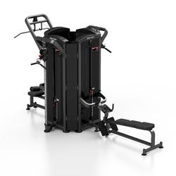 Wieża 4-stanowiskowa mini mp-t001 - marbo sport - antracyt metalic  czarny