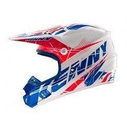 Kenny kask off-road track 14 blue-red