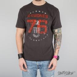 Koszulka amplified -ramones 1976 tour