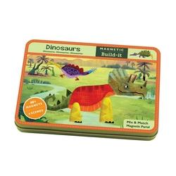 Zestaw magnesowych obrazków mudpuppy - dinozaury