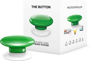 Fibaro the button  przycisk zielony  - szybka dostawa lub możliwość odbioru w 39 miastach