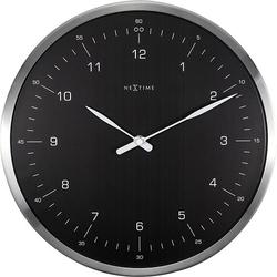 Zegar ścienny 60 minutes czarny