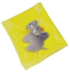Kocyk zoocchini - żółty - słonik