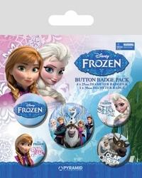 Frozen Kraina Lodu - przypinki