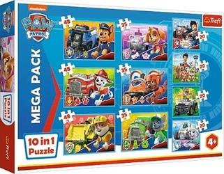 Puzzle 10w1 ekipa psiego patrolu paw psi patrol 90355 trefl