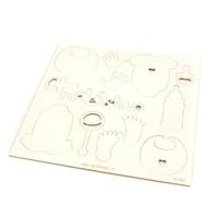 Zestaw ozdobnych scrapów - maleństwo 13,8x13,8 cm
