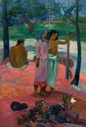 The call, paul gauguin - plakat wymiar do wyboru: 21x29,7 cm