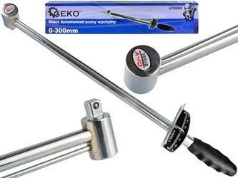 Klucz dynamometryczny wychylny 12quot; 0-300 nm geko