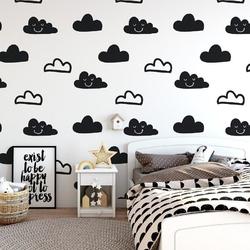 Happy clouds - tapeta ścienna , rodzaj - tapeta flizelinowa laminowana