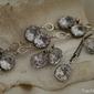 Morgan - srebrny komplet z cyrkoniami