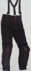 Spodnie tekstylne z szelkami psi vzorek guado
