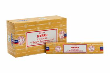 Kadzidełka SATYA Myrrh mirra - 15g