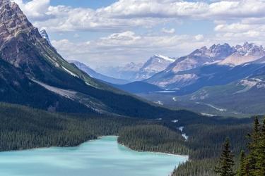 Obraz olśniewające góry fp 1569 p