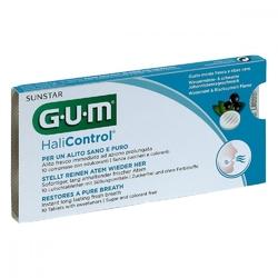 Gum halicontrol, pastylki do ssania