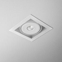 Aqform :: oprawa wpuszczana squares biała