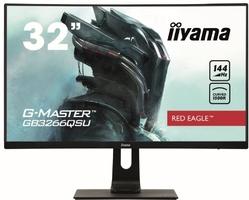 Iiyama monitor 31.5 cale gb3266qsu-b1 va,qhd,144hz,1ms,1500r,dpx,hdmix2,usbx4