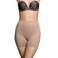 Majtki modelujące - bye bra invisible short nude l