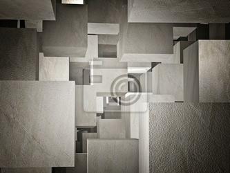 Fototapeta cubi abstract