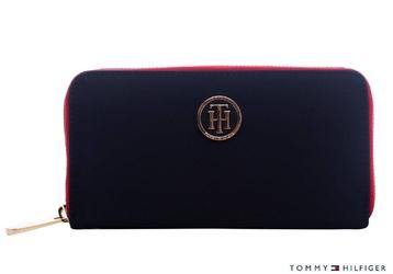 Damski portfel tommy hilfiger poppy lrg - aw0aw04282 413