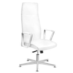 Fotel kosmetyczny rico 156 do pedicure i makijażu biały