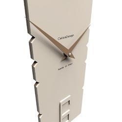 Zegar ścienny z wahadłem rock calleadesign czarny 11-006-5