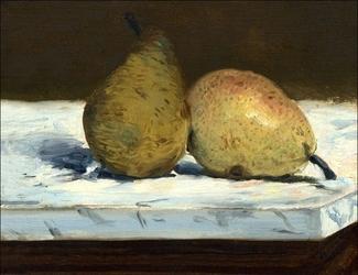 Pears, edouard manet - plakat