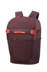 Samsonite Plecak na laptopa Hexa-Pocks S 14 bakłażanowy