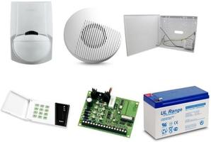 Zestaw alarmowy satel ca-4, klawiatura led, 1 czujnik ruchu, sygnalizator wewnętrzny - możliwość montażu - zadzwoń: 34 333 57 04 - 37 sklepów w całej polsce