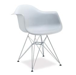Fotel do salonu rosalia biały