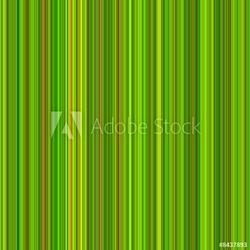 Board z aluminiowym obramowaniem jasne zielone i pomarańczowe kolory pionowe paski tle.