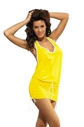 Sukienka plażowa marko elsa limon m-313 żółta 287