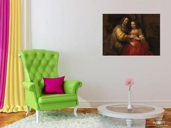 żydowska narzeczona rembrandt van rijn ; obraz - reprodukcja