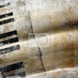 Fototapeta tło muzyczne grunge
