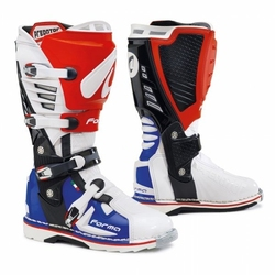 Forma buty predator białoczerwononiebieskie